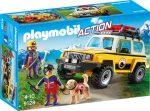Playmobil Action 9128 Hegyi mentők terepjáróval