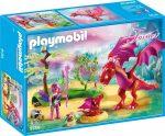 Playmobil Fairies 9134 Sárkánymama és kicsinye