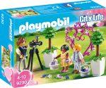 Playmobil City Life 9230 Fotós és virágszóró gyerekek