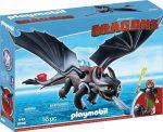 Playmobil Dragons 9246 Fogatlan és Hablaty