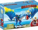 Playmobil Dragons 9247 Astrid és Viharbogár