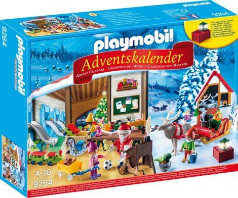 Playmobil Kiegészítők 9264 Adventi naptár - Mikulásgyár
