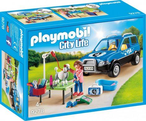 Playmobil City Life 9278 Mobil kutyaszalon