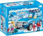 Playmobil Family Fun 9281 Autó tetőboxxal