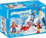 Playmobil Family Fun 9283 Hógolyózás