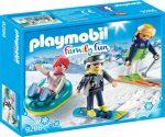 Playmobil Family Fun 9286 Téli sportok és móka a havon