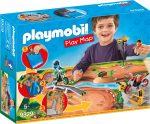Playmobil Kiegészítők 9329 Játszólap - Motocross
