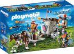 Playmobil Knights 9341 Törpék és vontatható dárdavető gép