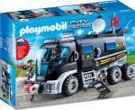 Playmobil City Action 9360 Rendőrségi rohamkocsi hanggal és fénnyel