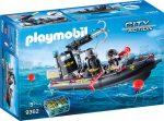 Playmobil City Action 9362 Rendőrségi motorcsónak