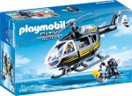 Playmobil City Action 9363 Rendőrségi helikopter