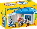Playmobil 1.2.3 9382 Hordozható rendőrállomás