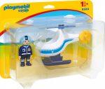 Playmobil 1.2.3 9383 Rendőr helikopter