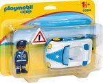 Playmobil 1.2.3 9384 Rendőrautó