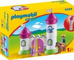 Playmobil 1.2.3 9389 Kastély tornyokkal