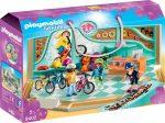 Playmobil City Life 9402 Kerékpáros és gördeszkás üzlet