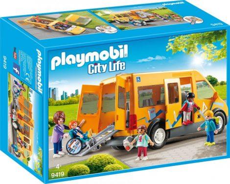 Playmobil City Life 9419 Iskolabusz