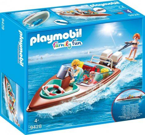 Playmobil Family Fun 9428 Motorcsónak vízalatti motorral