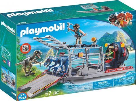 Playmobil Dinos 9433 Ellenséges hajó raptorokkal