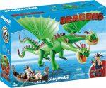 Playmobil Dragons 9458 Kőfej és Fafej Töffel és Böffel