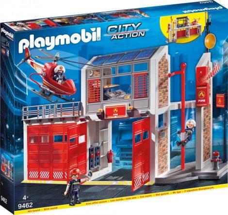 Playmobil City Action 9462 Tűzoltóság helikopterrel