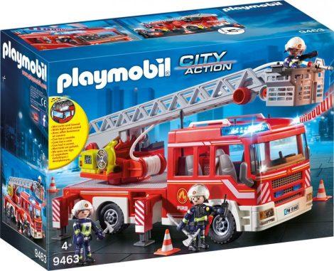 Playmobil City Action 9463 Tűzoltóautó emelőkosárral