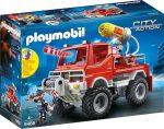 Playmobil City Action 9466 Tűzoltóautó fecskendővel