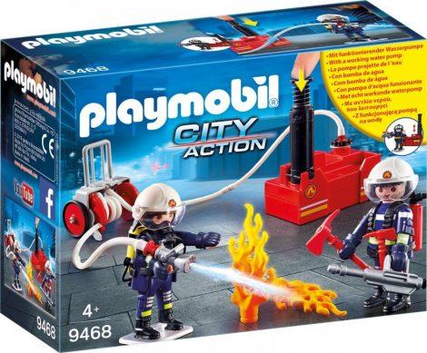 Playmobil City Action 9468 Tűzoltók szivattyúval