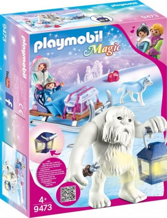 Playmobil Magic 9473 Troll szánkóval
