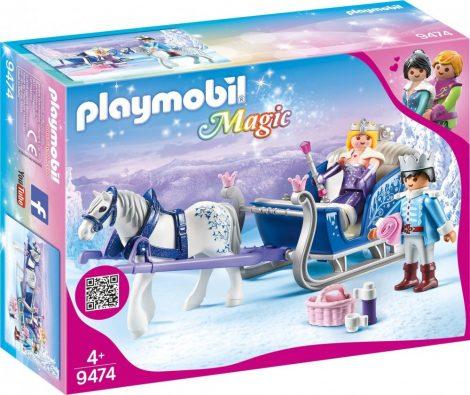 Playmobil Magic 9474 A kiályi pár szánja