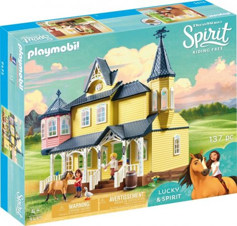 Playmobil Spirit Riding Free 9475 Lucky boldog otthona