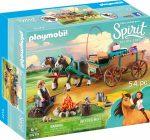 Playmobil Spirit Riding Free 9477 Jim atya kocsval