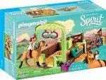 Playmobil Spirit Riding Free 9478 Lucky és Spirit istállóval