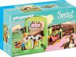 Playmobil Spirit Riding Free 9480 Abigél és Bumeráng