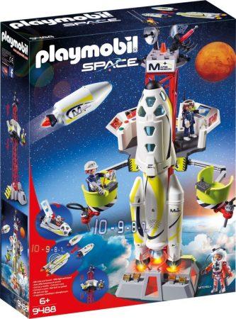 Playmobil Space 9488 Rakétakilövő állomás