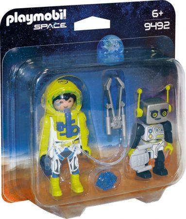 Playmobil Space 9492 Űrhajós és robot