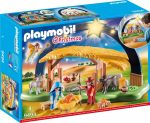Playmobil Christmas 9494 Világító jászol