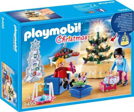 Playmobil Christmas 9495 Karácsonyi nappali