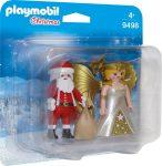 Playmobil Christmas 9498 Télapó és angyal